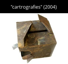 cartrografies Sculpture