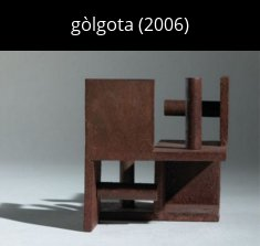 golgota cat Sculpture
