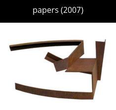 papers cat Escultura